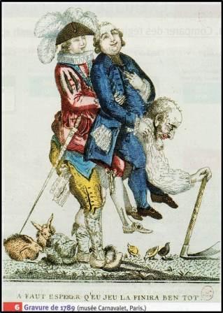 4ème : Réviser les difficultés de la monarchie sous Louis XVI ...