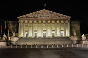 Paris : l'Assemblée Nationale