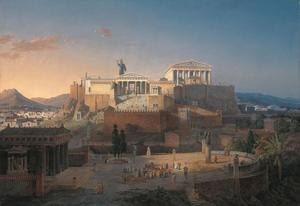 Akropolis by Leo von Klenze